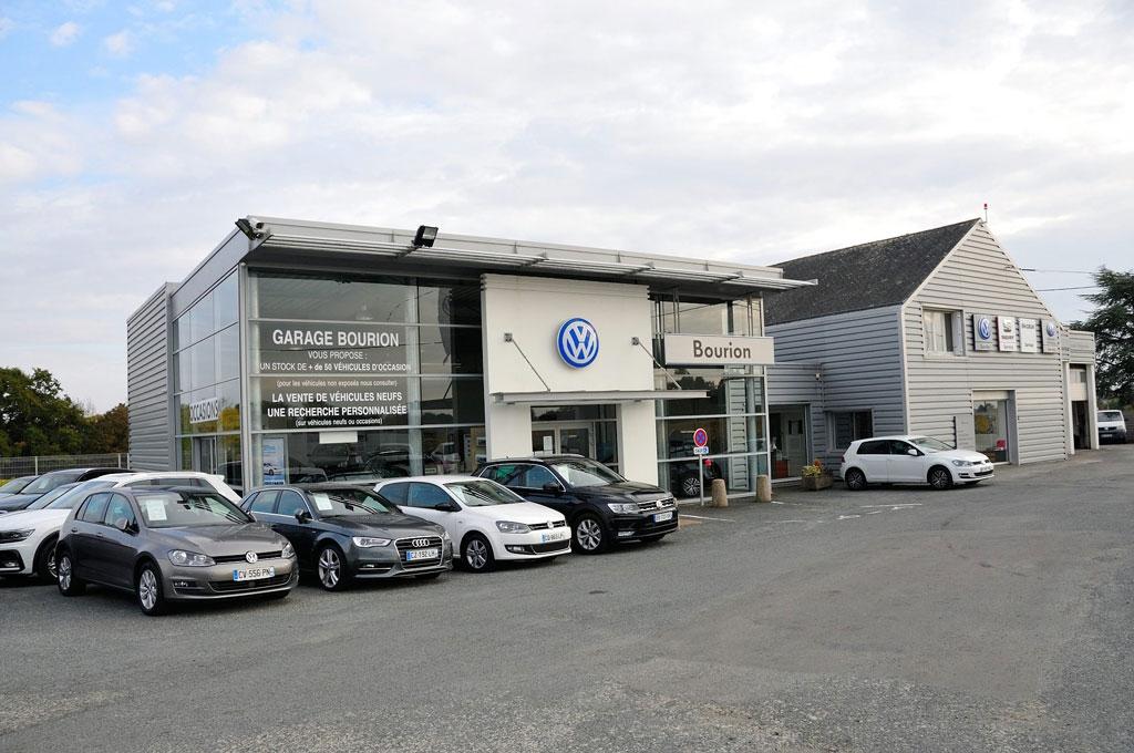 Garage Bourion et parking