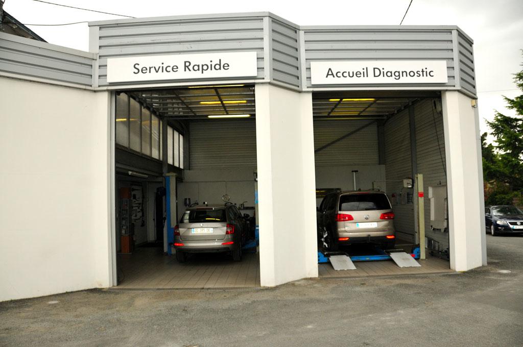 Service rapide et accueil diagnostic