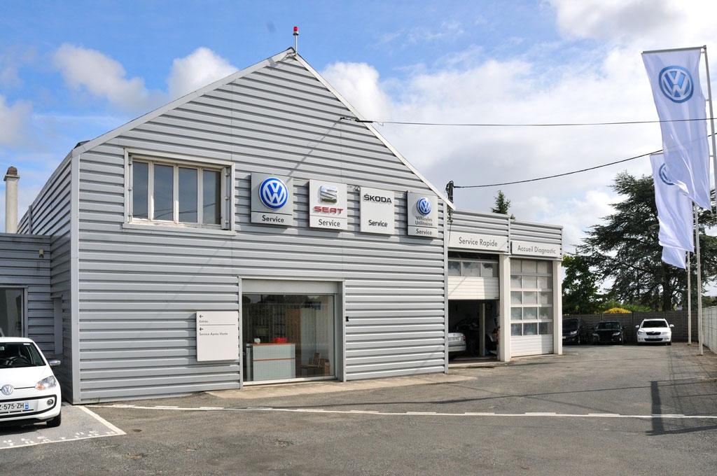 Vue sur le service rapide du Garage Bourion